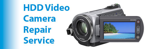 HDD Video Camera Repair Service