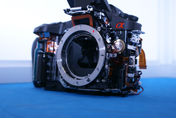 Sony Alpha Camera Repair Service Rrc